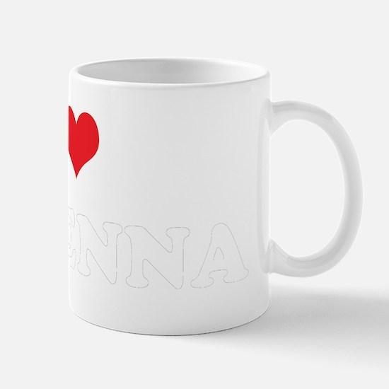 I Heart MAKENNA Mug