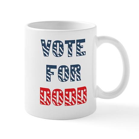Vote For DODD Kids T-Shirt Mug