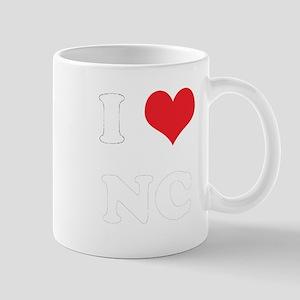 I Heart NC Mug