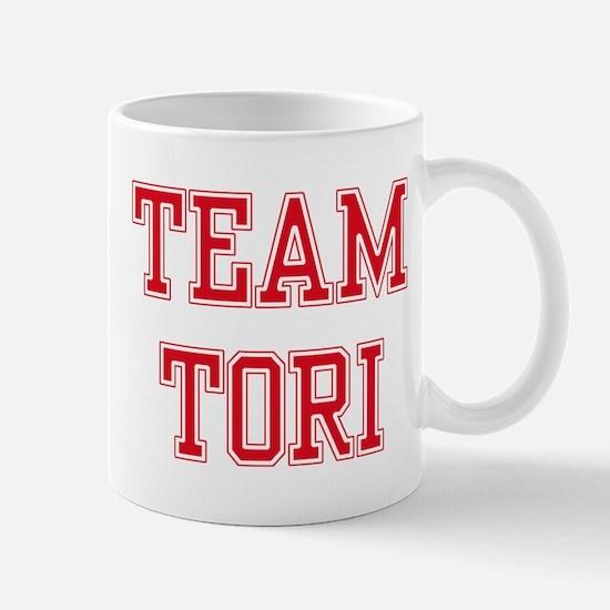 TEAM TORI  Women and apos;s Pink T-Shirt Mug