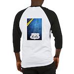 Blue 66 Shield Baseball Jersey