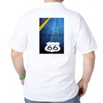 Blue 66 Shield Golf Shirt