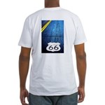 Blue 66 Shield Fitted T-Shirt