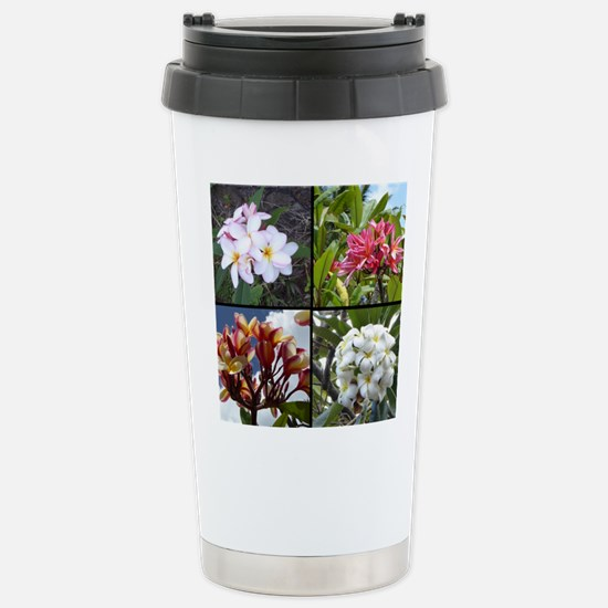 Plumerias Travel Mug