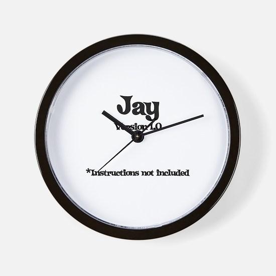 Jay Version 1.0 Wall Clock