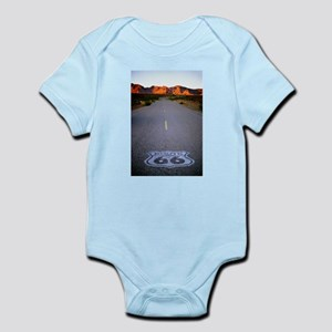 Route 66 Shield Infant Bodysuit