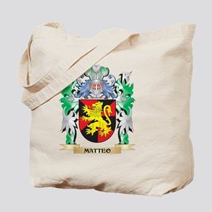 Matteo Coat of Arms - Family Crest Tote Bag