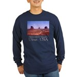 Mittens & Buttes Long Sleeve Dark T-Shirt