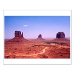 Mittens & Buttes Small Poster