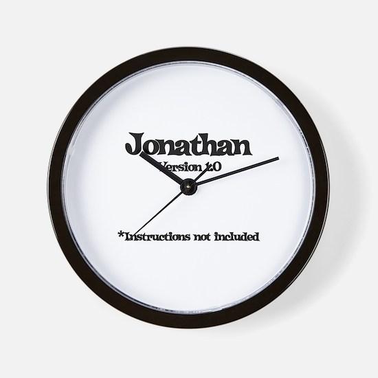 Jonathan Version 1.0 Wall Clock