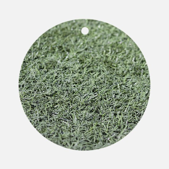 Grass AstroTurf Round Ornament