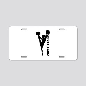 Cheerleading Aluminum License Plate