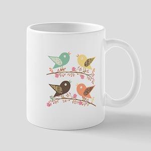 Four birds Mug