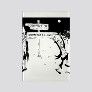 Caffeine Cartoon 7926 Rectangle Magnet
