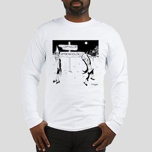 Caffeine Cartoon 7926 Long Sleeve T-Shirt