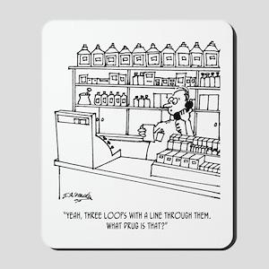 Pharmacist Cartoon 3109 Mousepad