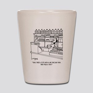 Pharmacist Cartoon 3109 Shot Glass