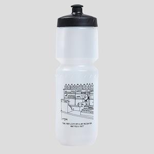 Pharmacist Cartoon 3109 Sports Bottle