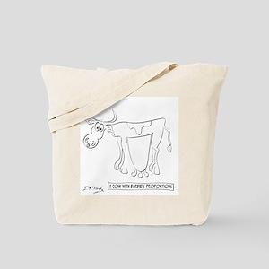 Cow Cartoon 9313 Tote Bag