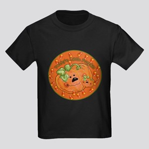 Daddys little pumpkin Kids Dark T-Shirt