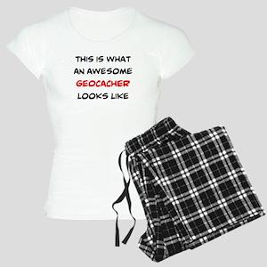 awesome geocacher Women's Light Pajamas