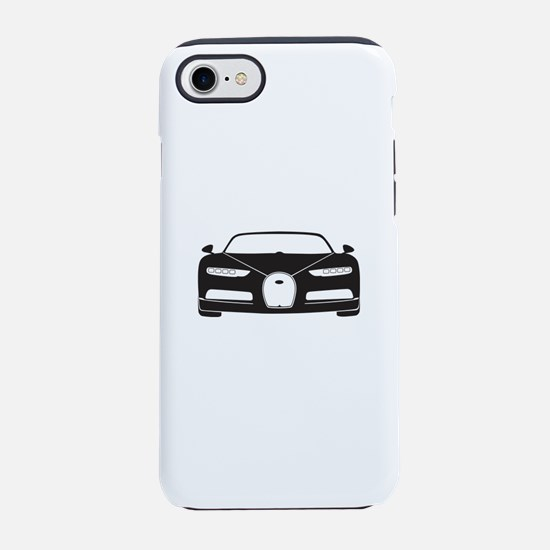 black bugatti chiron iPhone 8/7 Tough Case