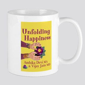 Unfolding Happiness book cover Mugs