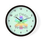 Paramedic Dad Wall Clock