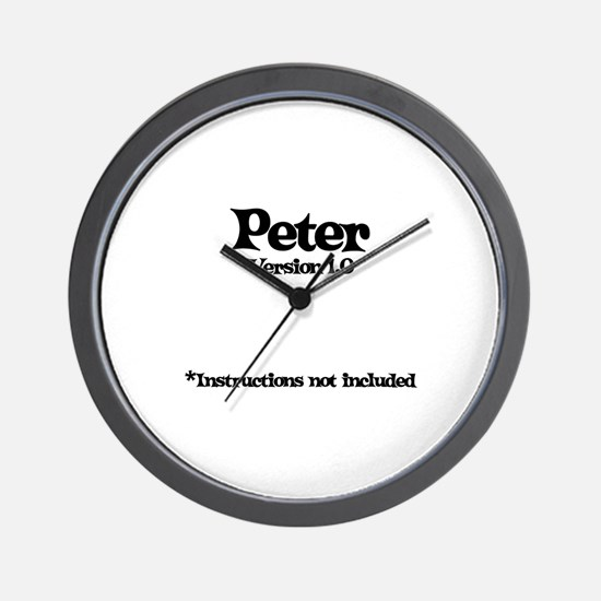 Peter Version 1.0 Wall Clock