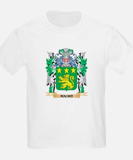 Mauro Coat of Arms - Family Crest T-Shirt