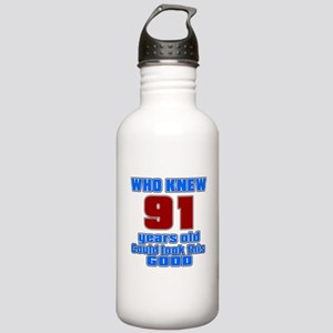 91 Years Old Could Loo Stainless Water Bottle 1.0L