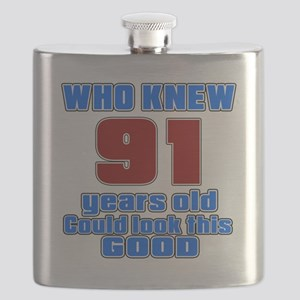 91 Years Old Could Look This Good Flask
