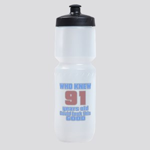91 Years Old Could Look This Good Sports Bottle