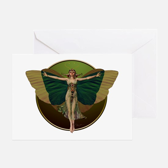 Flapper Fairy Greeting Cards