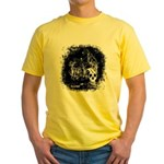 DeadCrows 001 Yellow T-Shirt