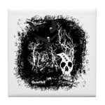 DeadCrows 001 Tile Coaster
