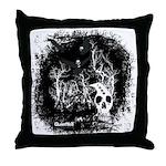 DeadCrows 001 Throw Pillow