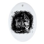 DeadCrows 001 Oval Ornament