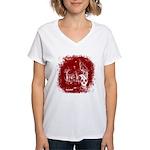 DeadCrows 001 Women's V-Neck T-Shirt