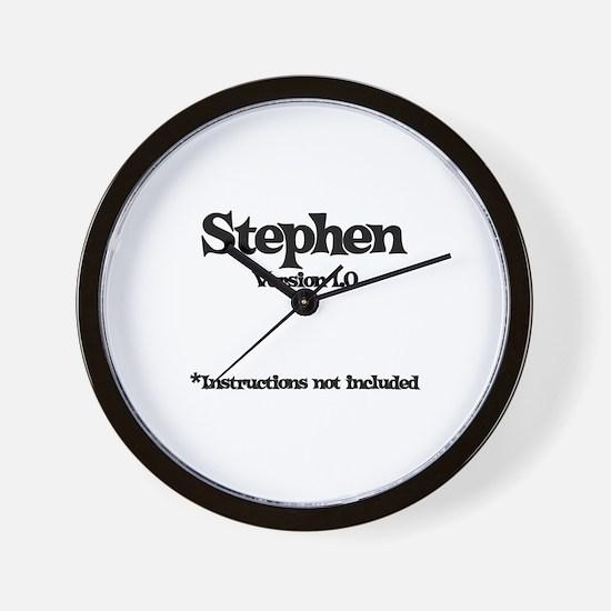 Stephen Version 1.0 Wall Clock
