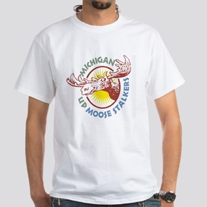 Moose Stalker White T-shirt