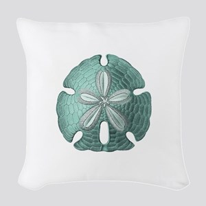 Sand Dollar Woven Throw Pillow