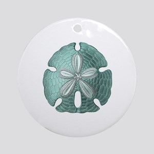 Sand Dollar Round Ornament