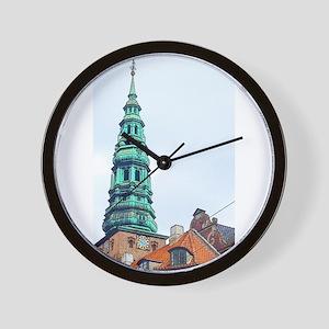 5:50 in Copenhagen Wall Clock