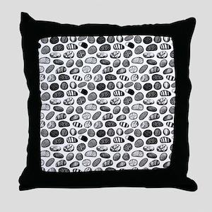 Pebble Pattern Throw Pillow
