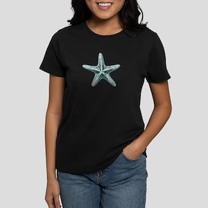Vintage Starfish Women's Dark T-Shirt