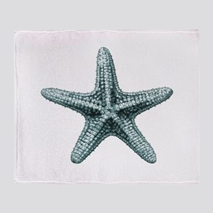 Vintage Starfish Throw Blanket
