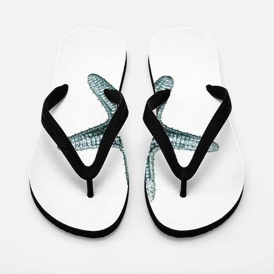 Vintage Starfish Flip Flops