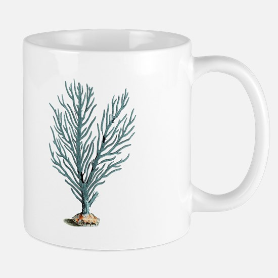 vintage coral Mug