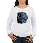 EmoJoy: Emo 001 Women's Long Sleeve T-Shirt